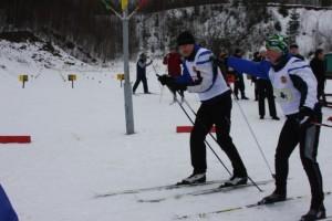 Участие должностных лиц ГРТ в Гродненской областной лыжне (г.Новогрудок)