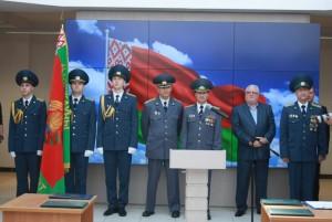 Молодые сотрудники Минской региональной таможни присягнули на верность Родине