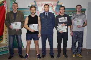 В Минской региональной таможни прошли соревнования по настольному теннису на призы начальника таможни