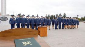 70 минских таможенников присягнули на верность стране в профессиональный праздник белорусской таможни