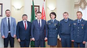 Главы белорусской таможни и Представительства МОМ в Республике Беларусь