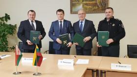 В четырехстороннем формате между таможенными и пограничными службами Беларуси и Литвы подписан Порядок взаимодействия
