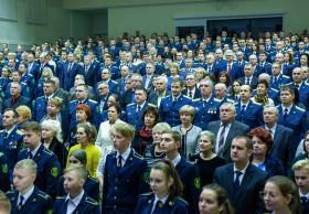 Торжественное собрание, посвященное 80-летию Брестской таможни