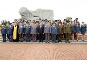 Церемонии Присяги и вручения наград в Брестской крепости