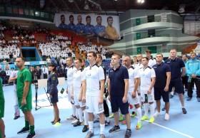 Открытие ХII Международного турнира по мини-футболу