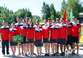 Победный турслет-2017 команды Брестской таможни в Витебской области
