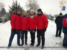 Витебские таможенники выступили в чемпионате таможенных органов Республики Беларусь по лыжным гонкам