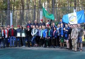 Таможенники и студенты Полоцкого государственного университета собрались на берегу озера Суя на день спорта и здоровья