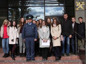 В Витебской таможне прошла встреча со студентами Юридического факультета Витебского государственного университета им. П.М.Машерова.