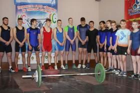 Открытое первенство молодежи по тяжелой атлетике на призы Гродненской региональной таможни (г.Лида, 2017)