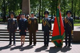 Сотрудники Минской региональной таможни на церемонии принесения Присяги с гордостью поклялись защищать экономическую безопасность Республики Беларусь