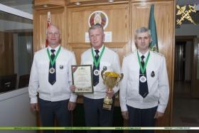 Команда Минской центральной таможни заняла второе место на чемпионате по пулевой стрельбе