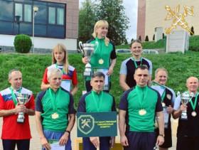 Минская центральная таможня заняла III место на Чемпионате таможенных органов по лыжероллерам