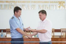 Председатель Государственного таможенного комитета определил перспективные задачи для Могилевской таможни и представил коллективу таможни начальника
