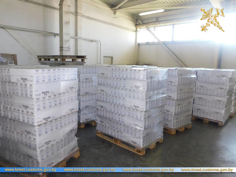 Детское питание на 40 тыс. рублей не заявили в товаросопроводительных документах